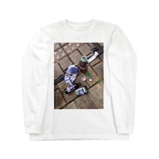 久しぶりのブロン Long sleeve T-shirts