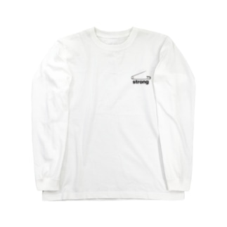 strongピン Long sleeve T-shirts