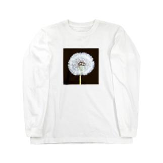タンポポ 「植物の肖像画」シリーズ Long Sleeve T-Shirt