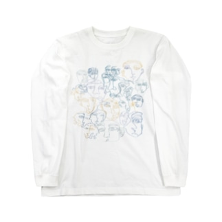 all the faces I've met. Long sleeve T-shirts