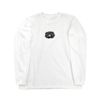 不安な気持ち Long sleeve T-shirts