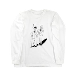 まえならえ Long sleeve T-shirts