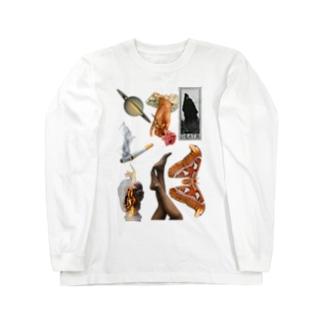 インフゥクションスリット Long sleeve T-shirts