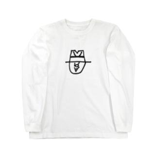 落書きロゴ Long sleeve T-shirts