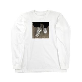 我得コラボ   Long sleeve T-shirts