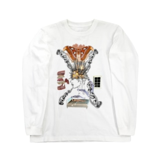 Mind爆発誘拐スリット Long sleeve T-shirts