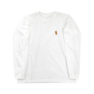 除菌消臭剤チーズ Long sleeve T-shirts