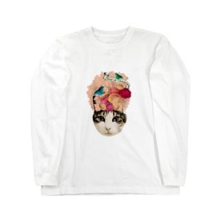 スイートピー マロン Long sleeve T-shirts