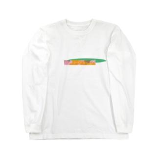セリナオレンジ Long sleeve T-shirts