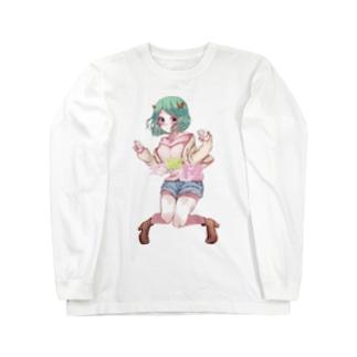 若宮桜 Long sleeve T-shirts