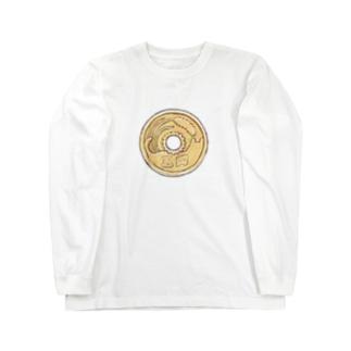 猫硬貨 伍 Long sleeve T-shirts