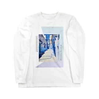 青の街 Long sleeve T-shirts