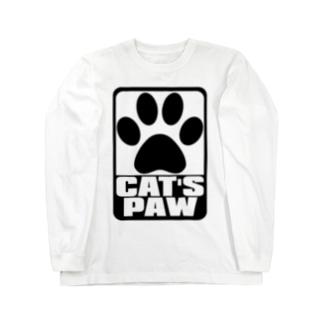 CAT'S_PAW Long sleeve T-shirts