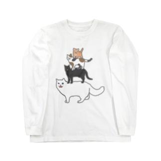 フレーメン反応隊 Long sleeve T-shirts