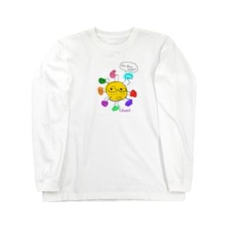 エドワードさん Long sleeve T-shirts