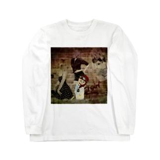 CAT GIRL 道草2 Long sleeve T-shirts
