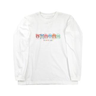 ふしぎちゃんズ Long sleeve T-shirts