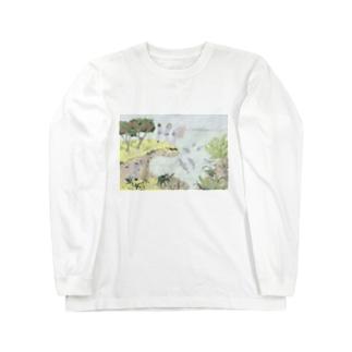 Wishing_you_healthy_summer_T-shirt Long sleeve T-shirts