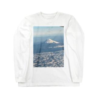 富士山グッズ Long sleeve T-shirts