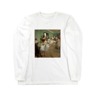 ダンス教室 / エドガー・ドガ(The Dance Class 1874) Long sleeve T-shirts