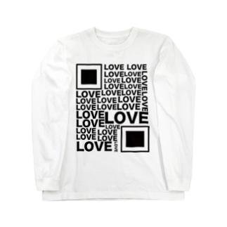 Loveコード Long sleeve T-shirts