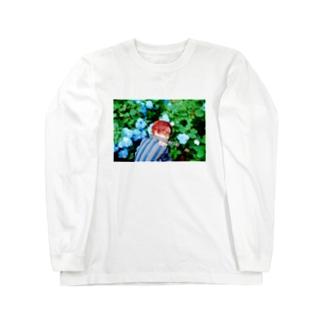 GYOZATABETAI憂欝 Long sleeve T-shirts