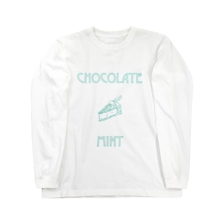 CHOCOLATE MINT Long sleeve T-shirts