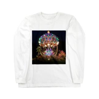 幻想夜空 Long sleeve T-shirts
