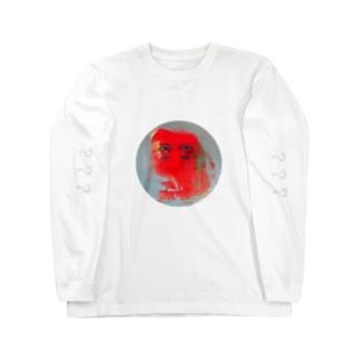 赤丸 Long sleeve T-shirts