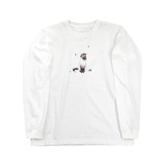 誰のものでもないシャム猫 Long sleeve T-shirts