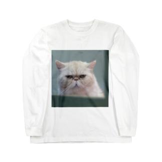 いつかの猫(大) Long sleeve T-shirts