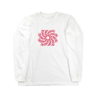 トルネード・チェーン Long sleeve T-shirts