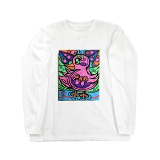 ピンキー Long sleeve T-shirts