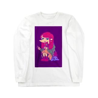 がーる Long sleeve T-shirts