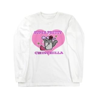 SUPER PRETTY Long sleeve T-shirts
