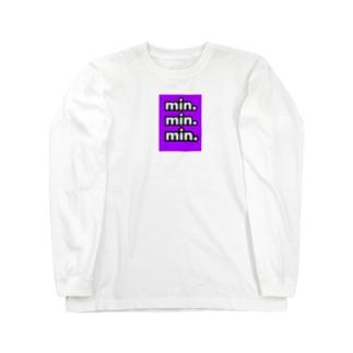 パープル好きな人へ Long sleeve T-shirts