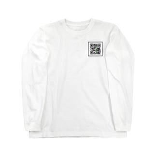 QRな世界 Long sleeve T-shirts
