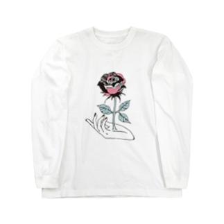 できるでしょう、その手から愛を。 Long sleeve T-shirts