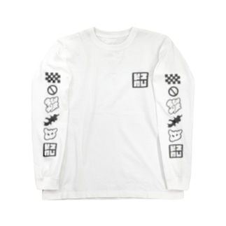 スKエアロゴ Long sleeve T-shirts