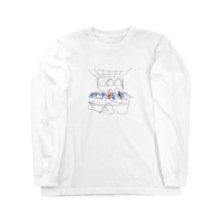 最後の晩餐 Long sleeve T-shirts