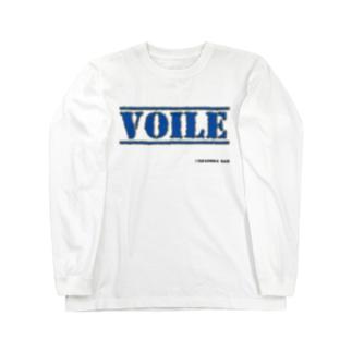 高島ベースーVOILE Long sleeve T-shirts