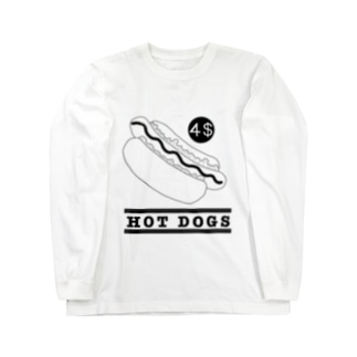 HOT DOGS Long sleeve T-shirts