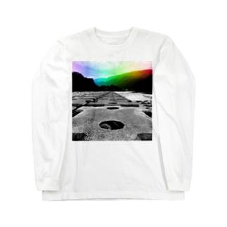 非現実的空間【徳島県内某所-02】 Long sleeve T-shirts