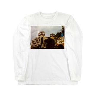 鹿児島 照国神社 ラブホテル Long sleeve T-shirts