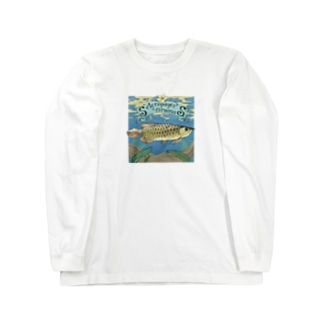 Scleropages formosus Long sleeve T-shirts