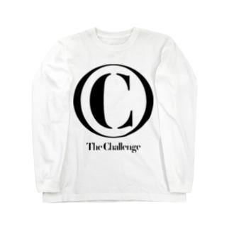 ザ・チャレンジ グッズのザ・チャレンジ クラシックロゴ ロングTシャツ(黒文字) Long sleeve T-shirts