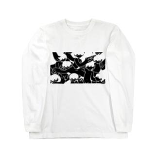 しがらみ Long sleeve T-shirts