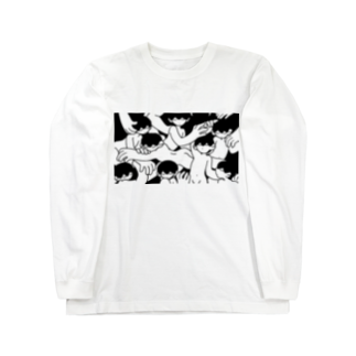 偶象崇拝のからまる Long sleeve T-shirts