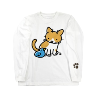 とりとねこ Long sleeve T-shirts