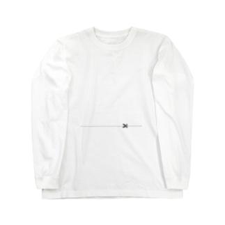 キリトリ Long sleeve T-shirts
